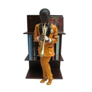 H-80031 CD Holder Trumpeter - Jazz