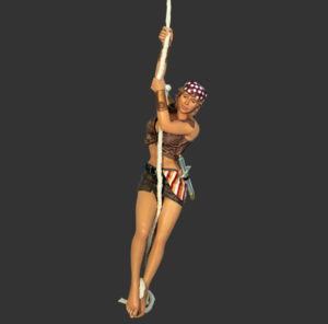 H-110050 Sexy Girl Pirate - Piraat