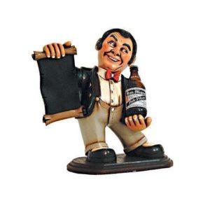 HFBEW Waiter Butler Beer - Menubord