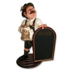 HFTM3 Waiter Tiroler - Menubord