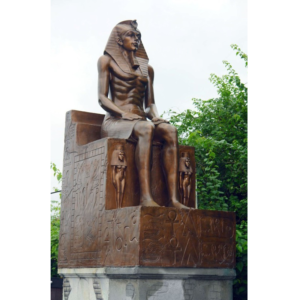 HO Egyptian Sitting on Throne - Egypte