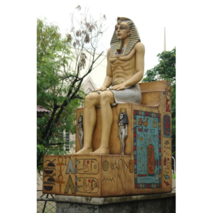 HP Egyptian Sitting on Throne  - Egypte