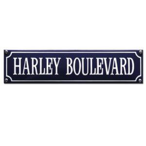 SS-33 Harley Boulevard Blauw
