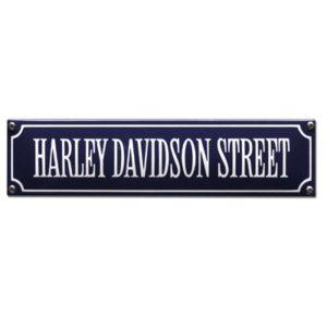 SS-34 Harley Davidson Street Blauw