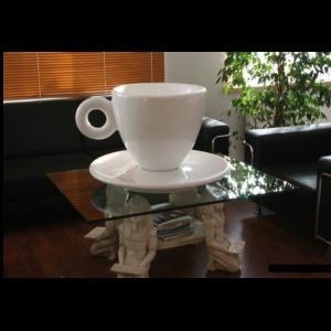 KK002 Kopje Koffie XXL - Kop en Schotel