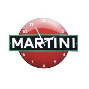 """Klok Emaille """"Martini"""" 40x53cm"""