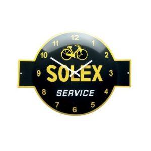 """Klok Emaille """"Solex"""" 40x53cm"""