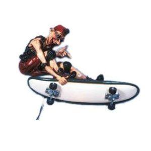 LISKA Lamp Skate Boarder