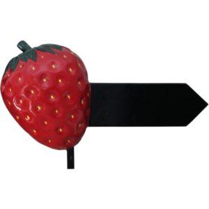 M-217 Strawberry Sign - Aardbei - 55 cm