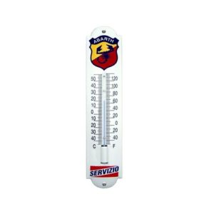"Thermometer Emaille ""Abarth"" 7x30cm"