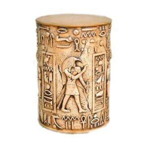 MUE2W Egyptian Pilaar Anubis White - Egypte