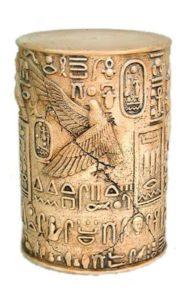 MUE4W Egyptian Pillar - Pilaar Eagle White - Egypte