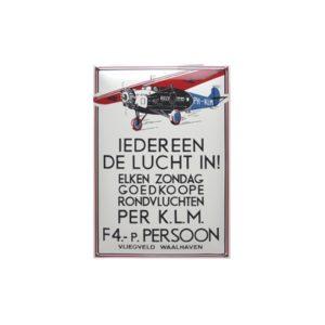 Nostalgisch Groot 16 KLM 35x50cm