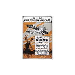 Nostalgisch Groot 17 KLM 35x50cm