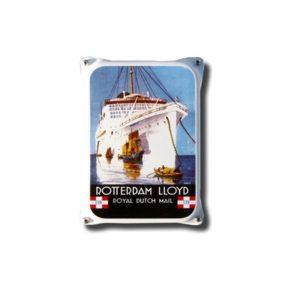 Nostalgisch Klein 28 Rotterdam Lloyd 10x14cm