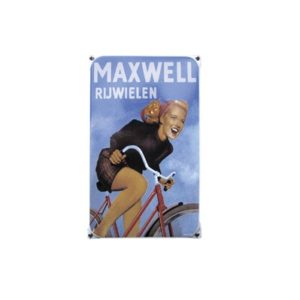 Nostalgisch Klein 40 Maxwell 20x33cm