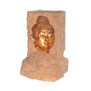 OTBIH Body Buddha Head Illusion with Lamp - Boeddha