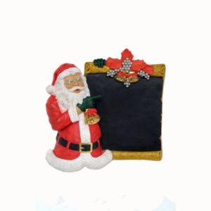 PB-08 Santa Claus Standing with Board - Kerstman