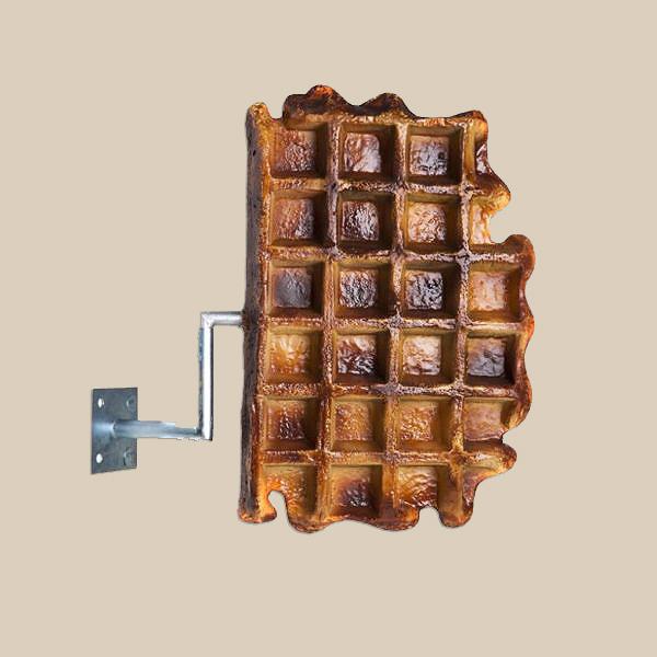 R-001 Luikse Waffle - Wafel 60 cm