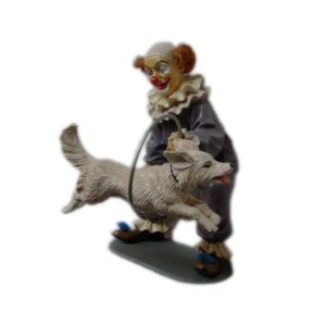 "CW043 Clown ""Jumping Dog"""