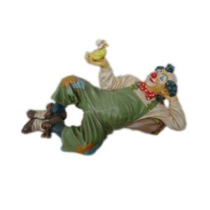 "CW032 Clown ""Lying with Duck"