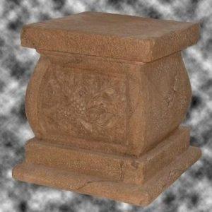 SCFBF Garden Flower Pedestal - Pilaar