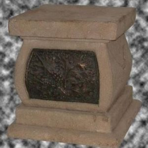 SCFPB Stone Finished Flower Pedestal - Pilaar