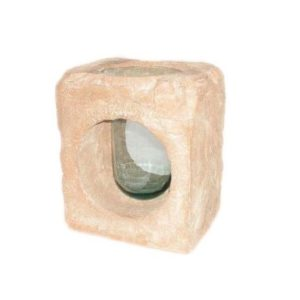 SCSBV Stone Finished Vase Stone Block - Plantenbak