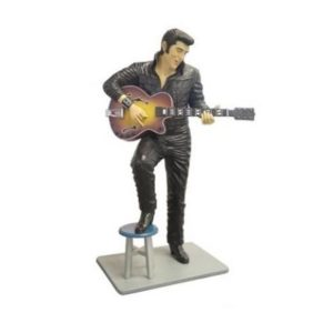 ST6624 Elvis Presley Lifesize Leather with Gitar