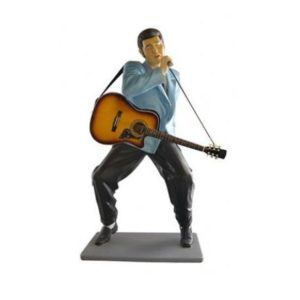 ST6634 Elvis Presley Lifesize with Gitaar