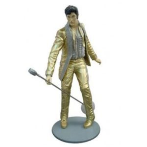 ST6638 Elvis Presley Lifesize Gold