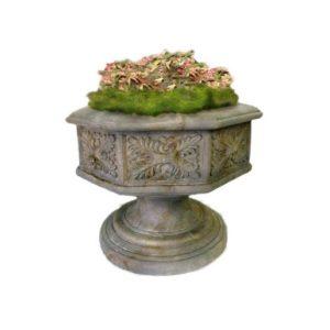 TB-FAF103 Garden Planter Vase Gothic - Plantenbak