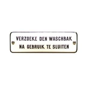 Trein & Tram #TR18 Waschbak 4x11cm