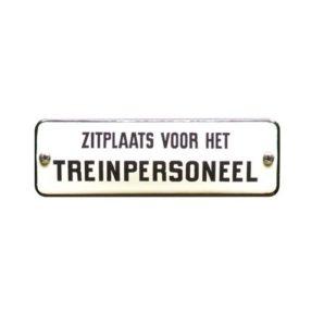 Trein & Tram #TR20 Treinpersoneel 4x11cm