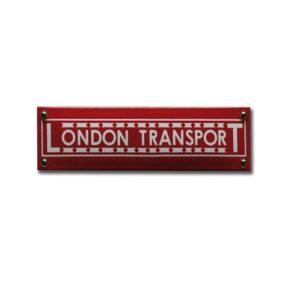 Trein & Tram #TR31 London Transport 6x20cm