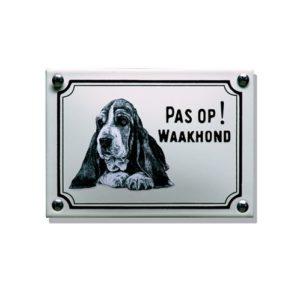 Waakhondenborden #WHK06 Hushpuppy 10x14cm