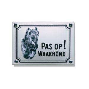 Waakhondenborden #WHK08 Mastif 10x14cm