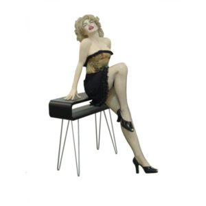ST6655 Statue Marilyn Monroe on Console Table