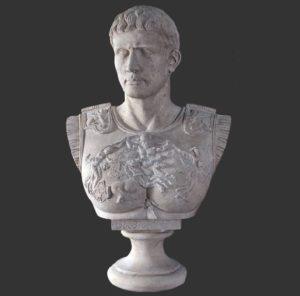 H-090042-RS Buste - Augustus Caesar