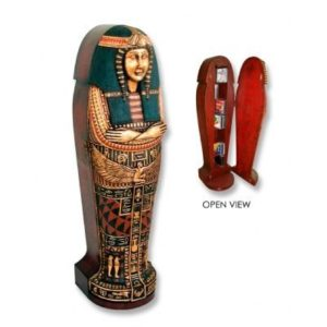 CDQS2 Egyptian CD Holder Sarcophagus Queen - Egypte