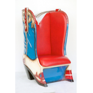 5039 Cowboy Boot Chair