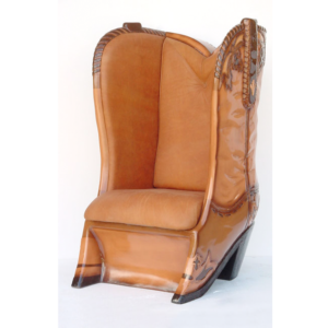 5039-B Cowboy Boot Chair