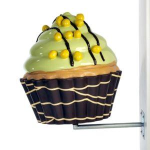 DA-015 Cupcakes Green - 65 cm