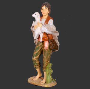 H-140023 Christmas Boy Shepherd - Kerststal