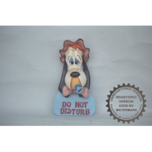 CW058 Droopy Wall Hanger Do Not Disturb