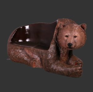 H-160017 Grizzly Bear Seat - Grizzlybeer