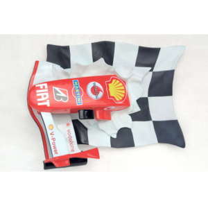 2478 F1 Nose Cone on Race Flag - Formule 1