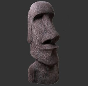 H-090076 Easter Island Moai Light- Paaseiland