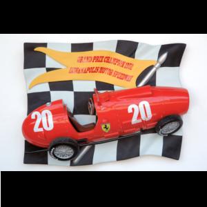 2530 Flag with Vintage F1 Car - Formule 1