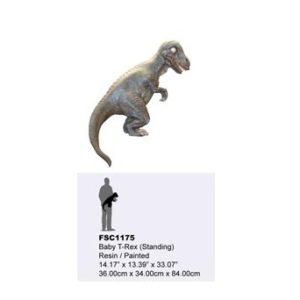 TB-FSC-1175 Baby T-Rex Standing - Dinosaurus